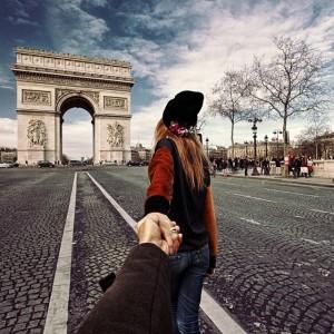 paris Follow-Me-To-The-Arc-De-Triomphe-In-Paris-France